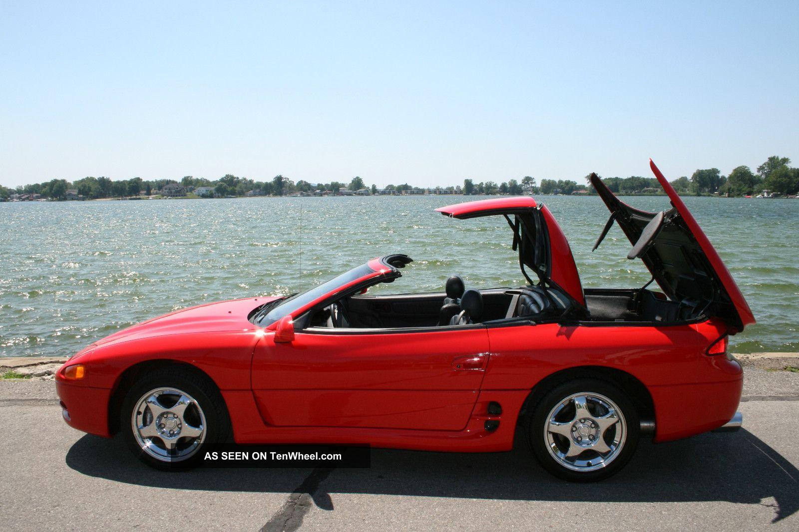 1995 3000gt Vr4 Spyder Rare