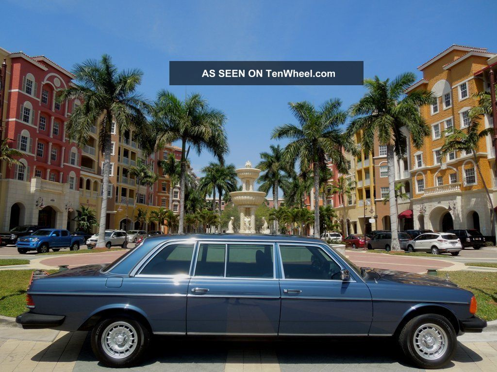 1983 Mercedes - Benz 300d Limo Ultra Rare Fl 300-Series photo