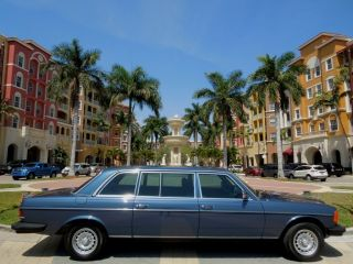 1983 Mercedes - Benz 300d Limo Ultra Rare Fl photo