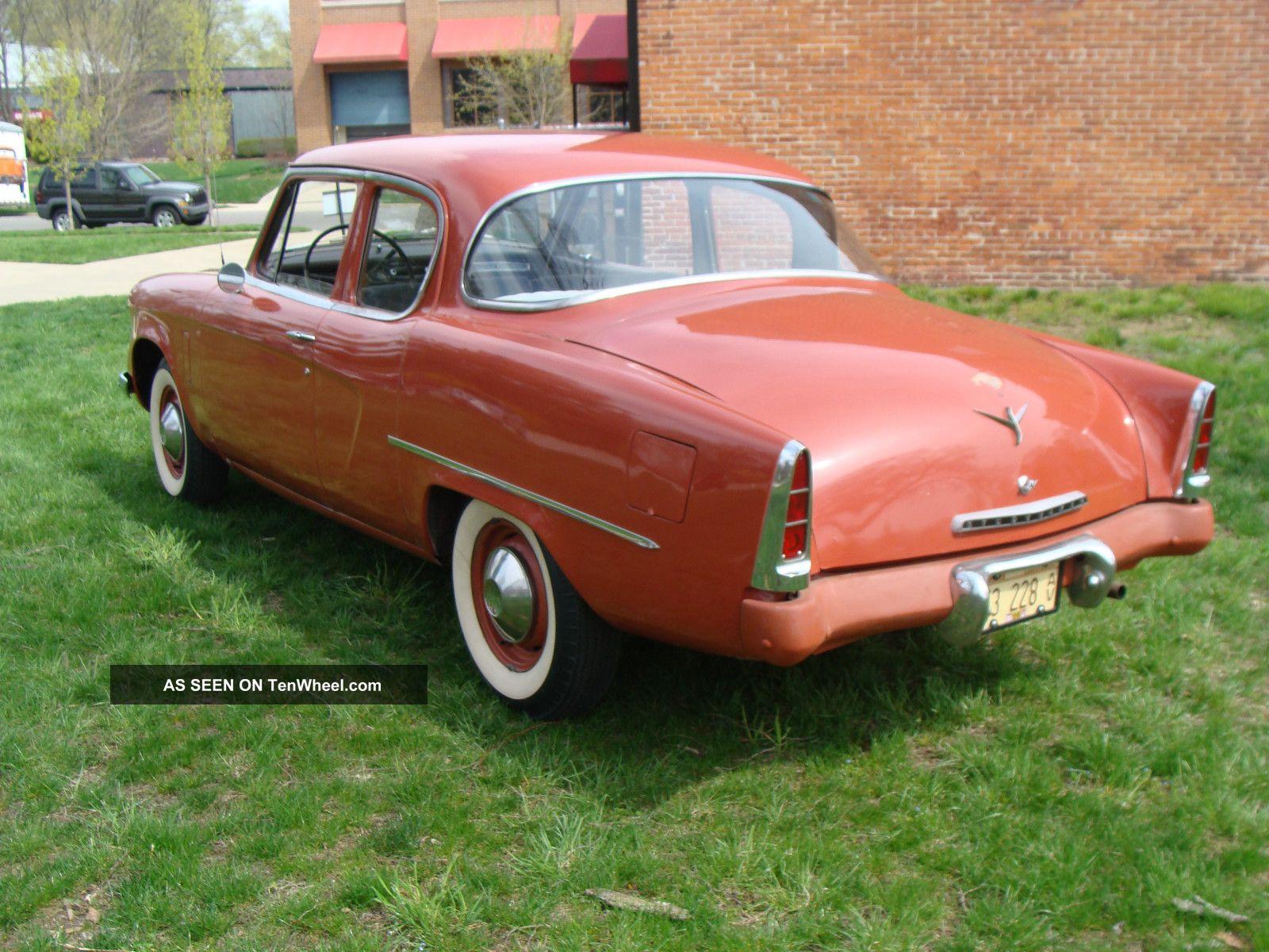 1953 Studebaker Champion 2 Door Sedan F Body Runs