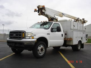 2004 Ford F450 Superduty With Altec,  At200a 35 ' Working Height Bucket,  1owner photo
