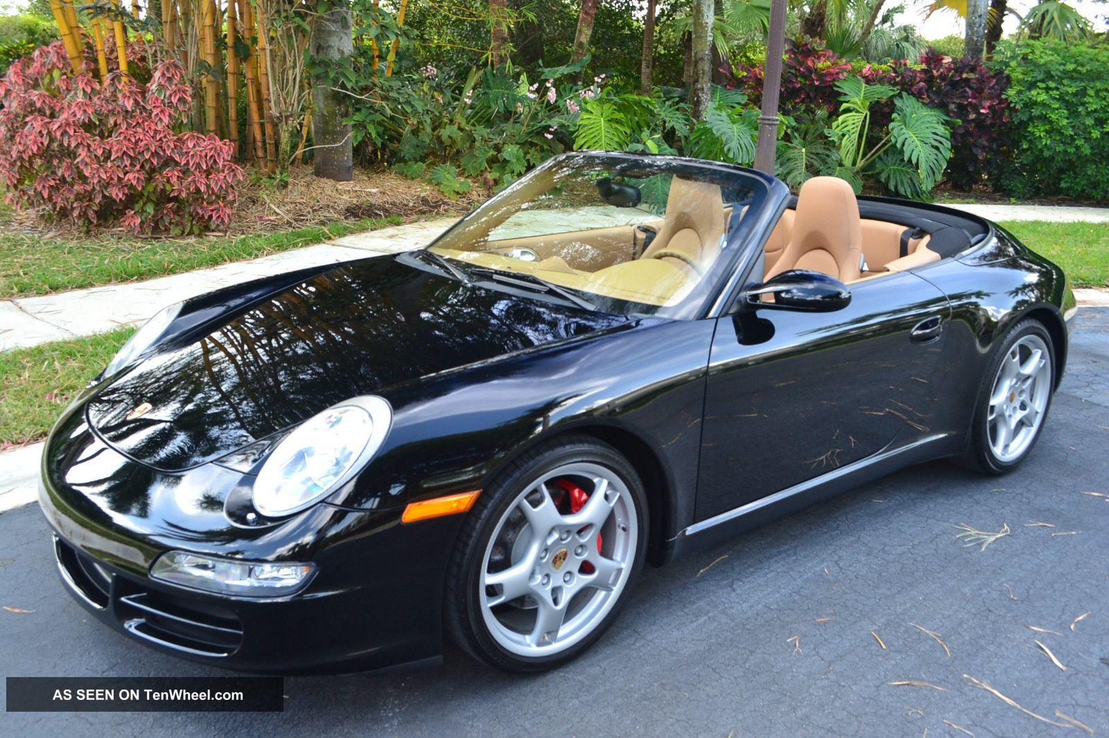 2008 Porsche 911 Carrera S Convertible 2 - Door 3.  8l,  Navi,  Sport Chrono,  Bose 911 photo