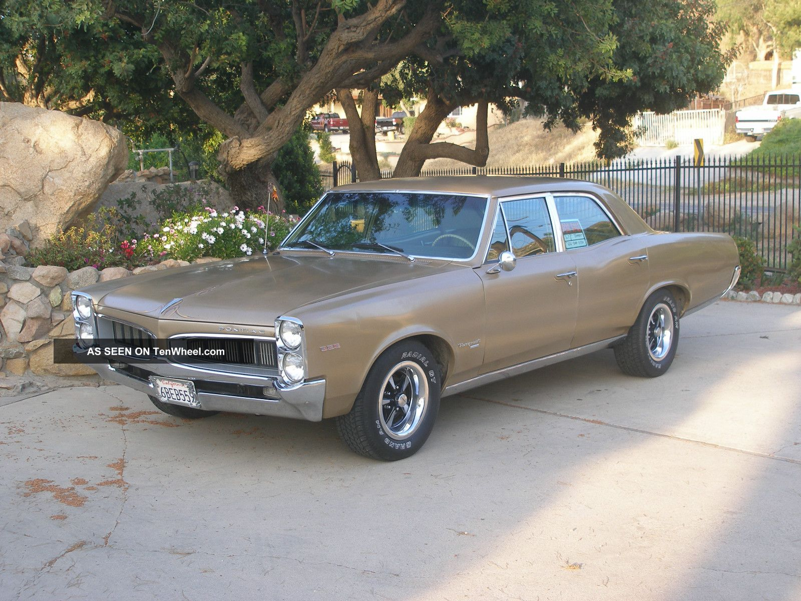 1967 Pontiac Tempest Custom 326 V8 A C Rally Wheels