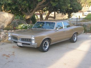 1967 Pontiac Tempest Custom,  326 V8,  A / C,  Rally Wheels photo