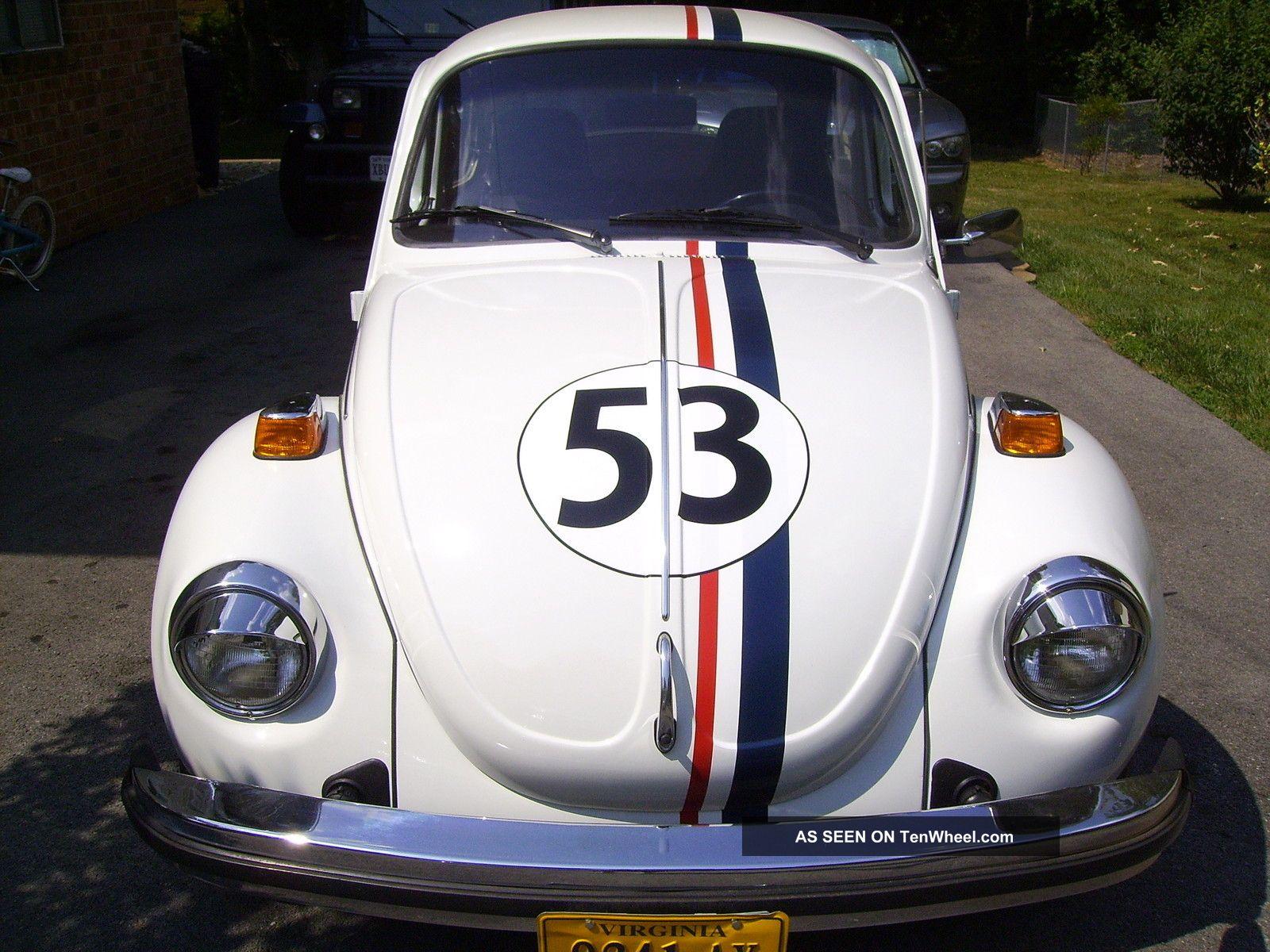 1974 Vw Beetle Bug Her...