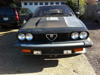 Rare Classic 1983 Alfa Romeo Gtv 6 photo