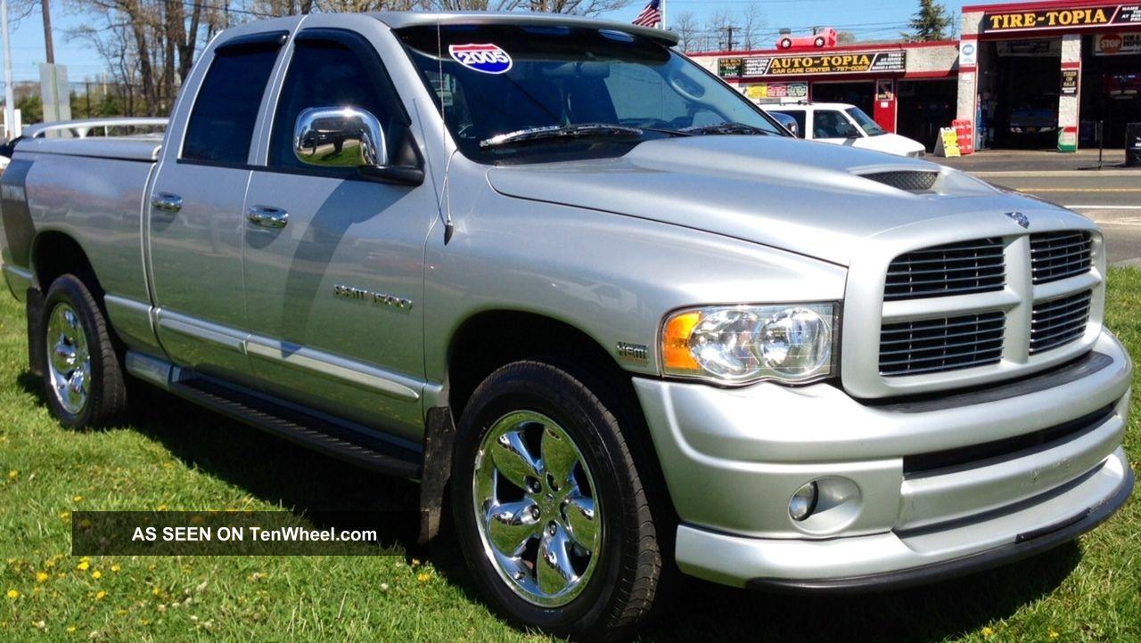 2005 Dodge Ram 1500 Slt Crew Cab Pickup 4 Door 5 7l Daytona Editon 2863