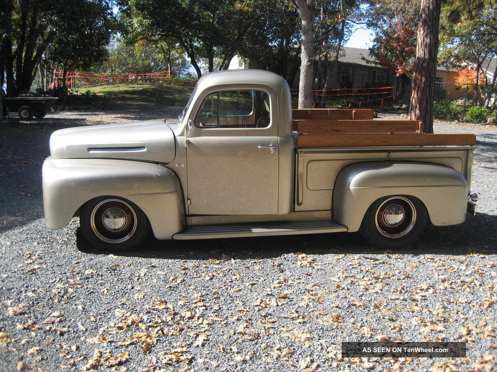 1949 ford f 1 custom pickup. Black Bedroom Furniture Sets. Home Design Ideas