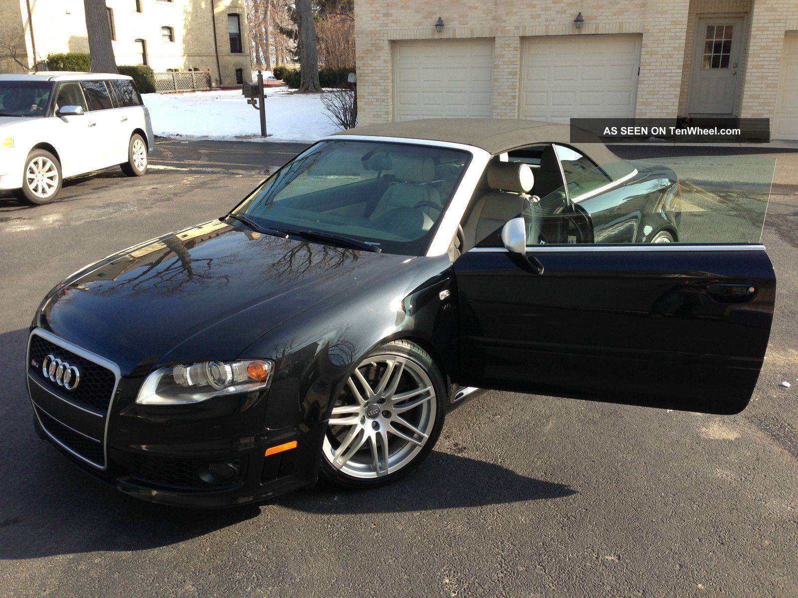 2008 Rs4 Cab Black / Lt Grey 10k In Extras Car Is RS4 photo