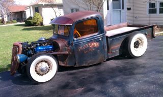 1937 Ford Pickup Hot Rod / Rat Rod photo