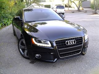 2009 Audi A5 Quattro S - Line Coupe 2 - Door 3.  2l Black photo