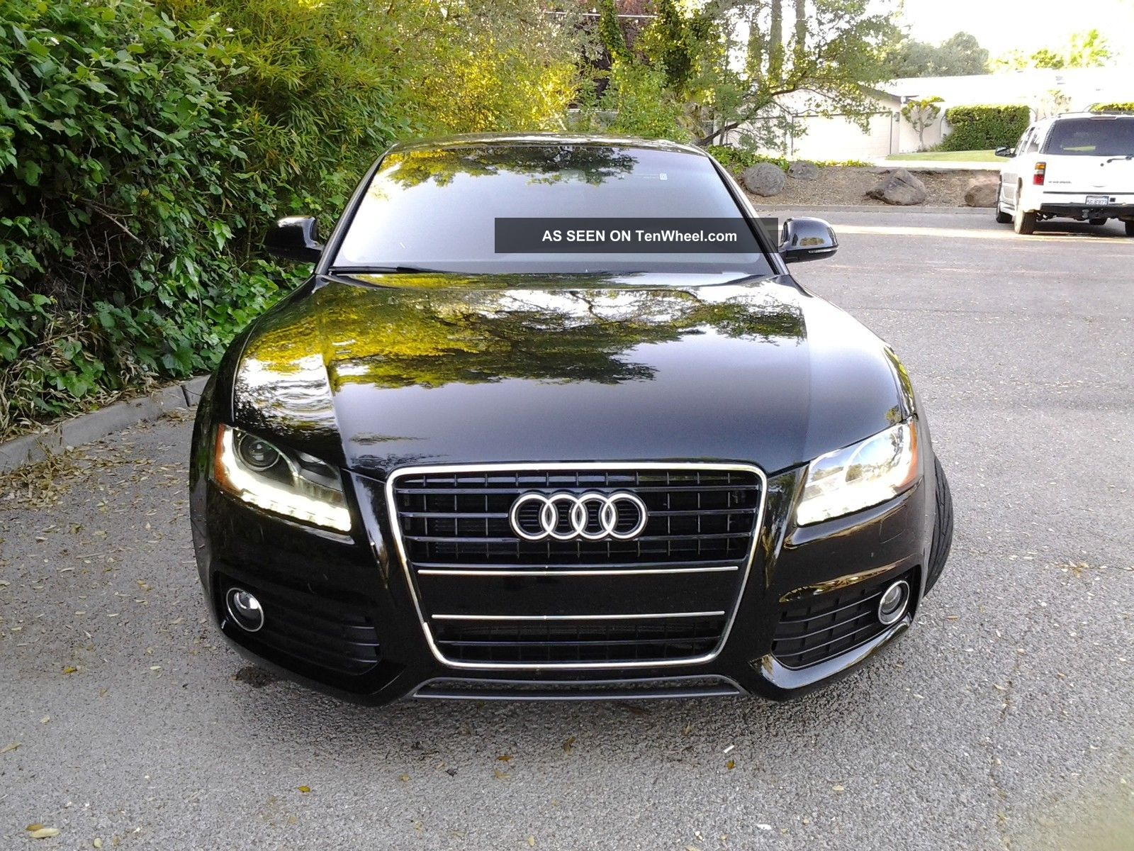 2009 audi a5 quattro s line coupe 2 door 3 2l black. Black Bedroom Furniture Sets. Home Design Ideas