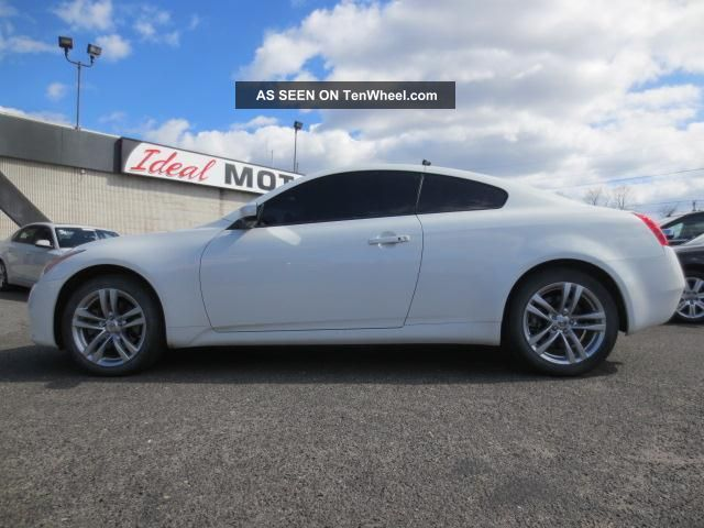 2010 Infiniti G37 X Coupe 2 Door 3 7l