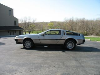 1983 Delorean Dmc 12 Base Coupe 2 - Door 2.  9l photo