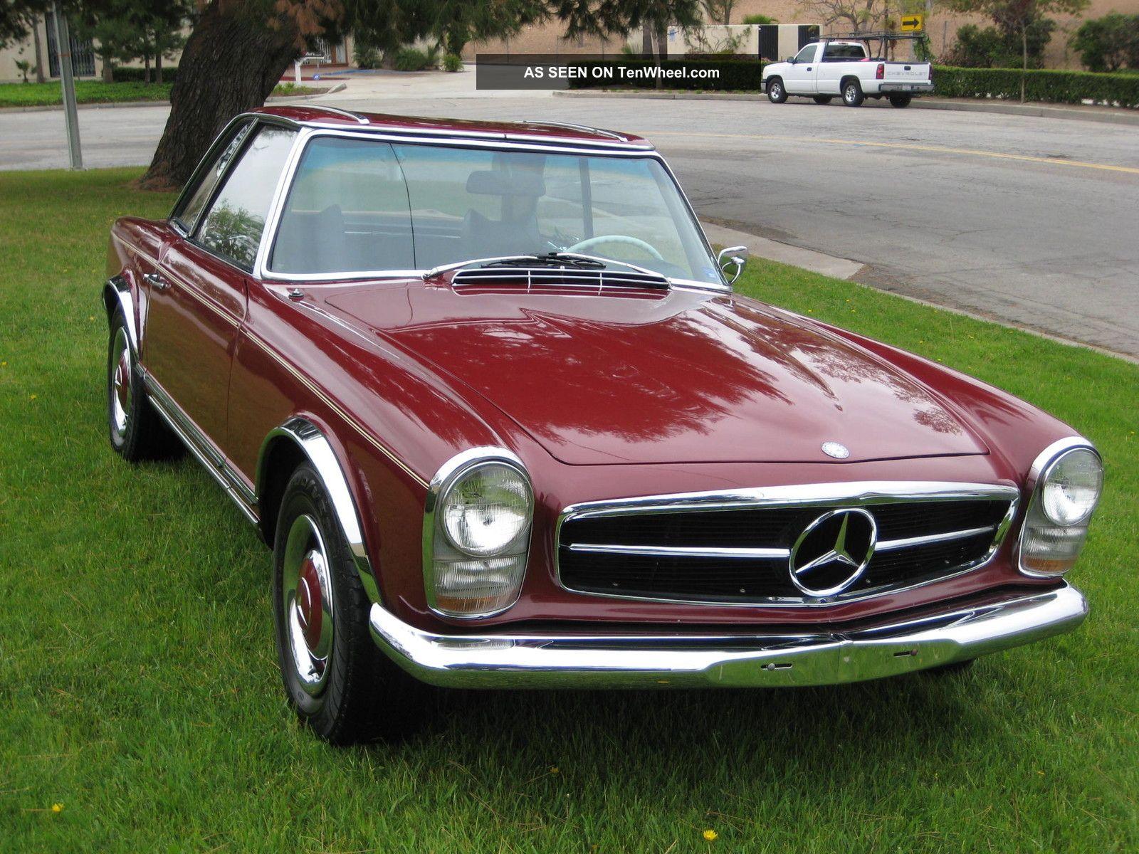 1966 Mercedes 230 Sl Paguda SL-Class photo