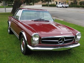 1966 Mercedes 230 Sl Paguda photo