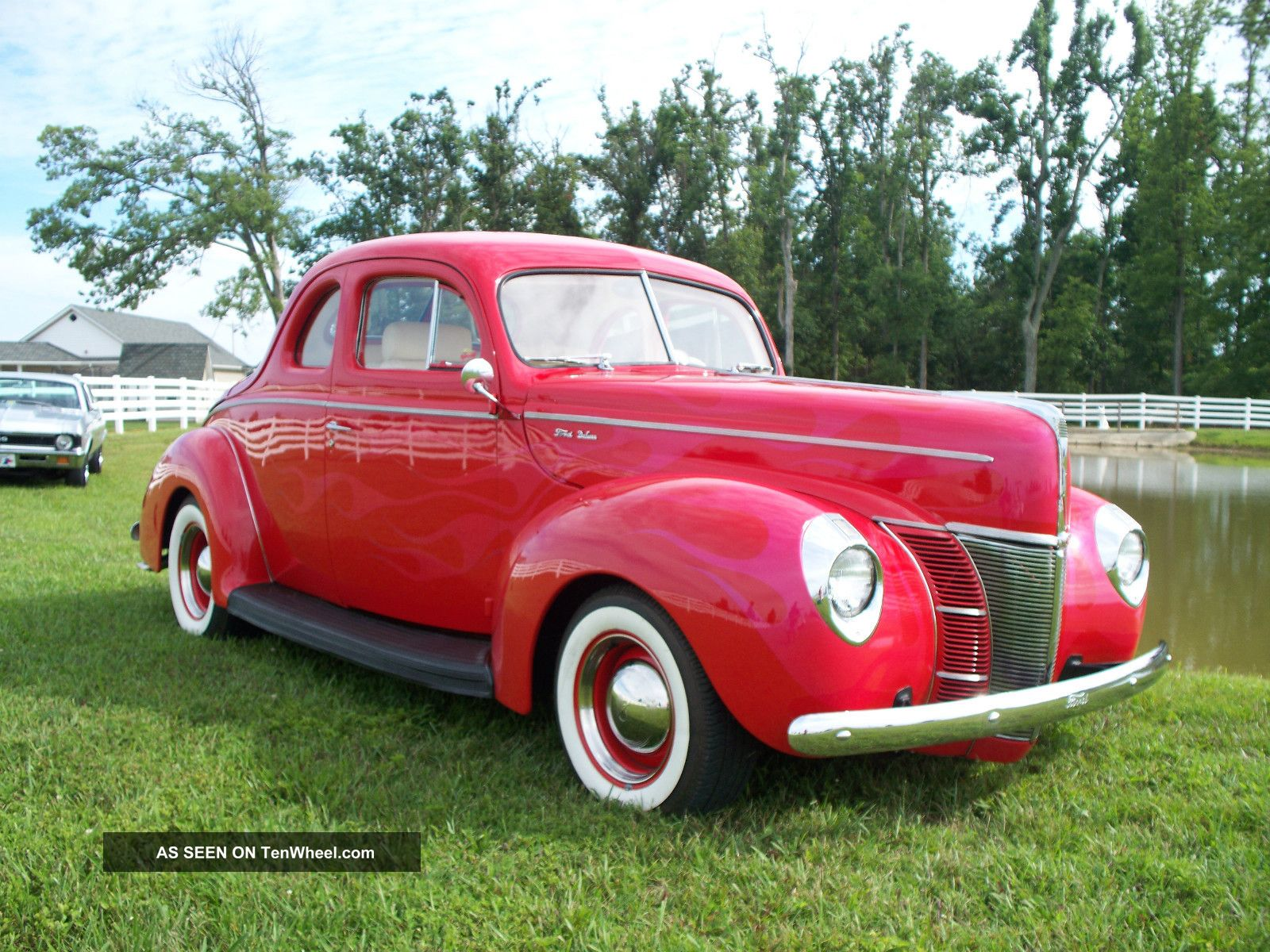 1940 Ford Coupe All Steel Hot Rod Street Rod And Drive