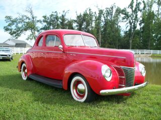 1940 Ford Coupe (all - Steel) Hot - Rod Street - Rod And Drive photo
