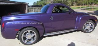 2004 Chevrolet Ssr Base Convertible 2 - Door 5.  3l photo