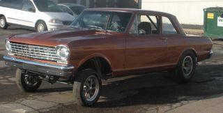 1962 Chevy Ii Gasser Nova Straight Axle photo