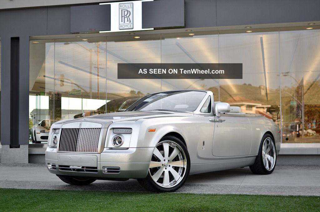 2011 Rolls Royce Phantom Drophead Coupe Convertible 2 - Door 6.  7l Phantom photo