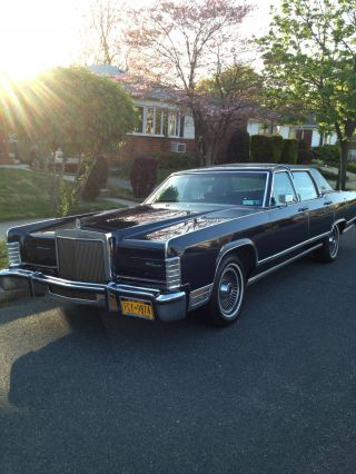 1979 Lincoln Continental Collector ' S Series photo