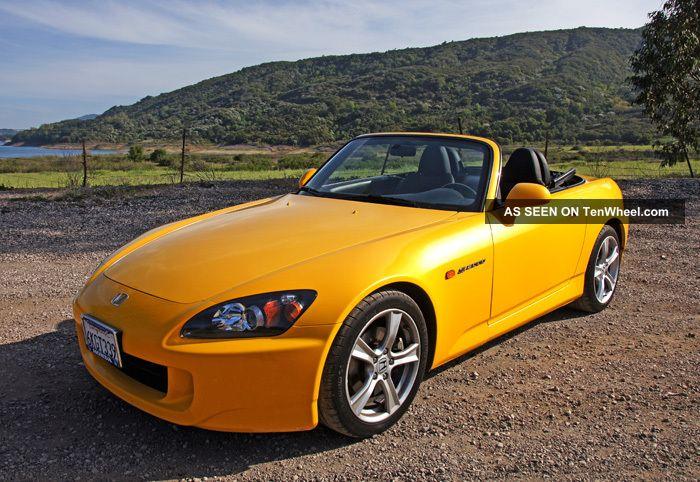 2009 Honda S2000 - Impeccable,  Rare Final - Year Roadster.  Honda Cpo S2000 photo