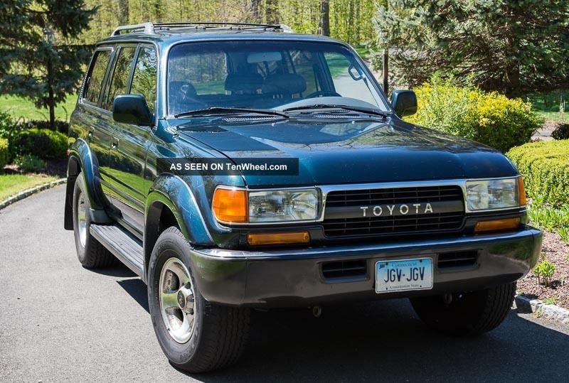 1993 Toyota Land Cruiser Luxury Sport Utility 4 - Door 4.  5l Land Cruiser photo