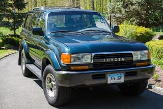 1993 Toyota Land Cruiser Luxury Sport Utility 4 - Door 4.  5l photo