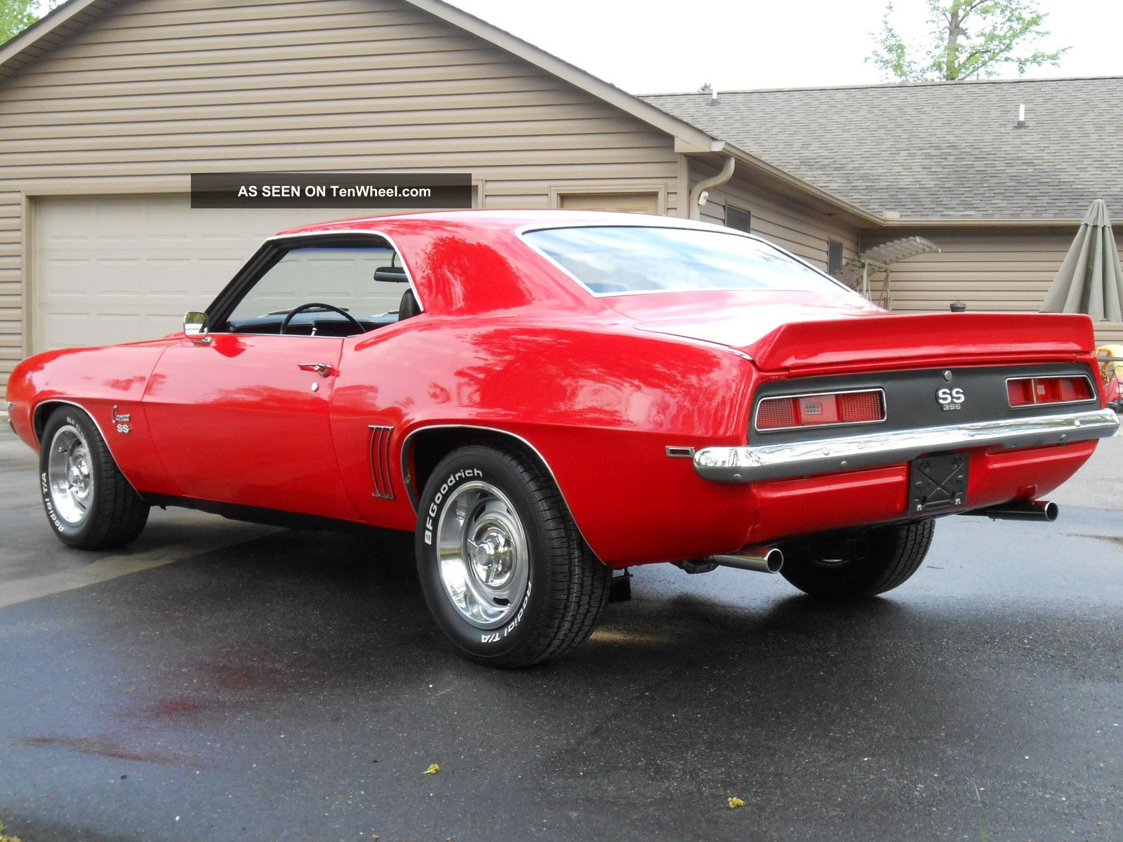 1969 Camaro Ss 396 4 Speed Matching Numbers Real Deal