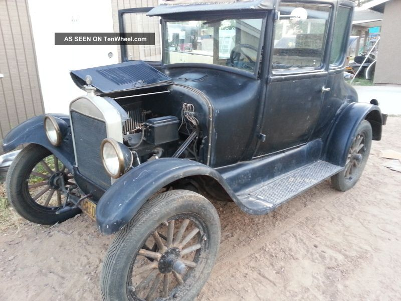 1926 Ford Model T Coupe - - - - Running / Driving California Car Model T photo