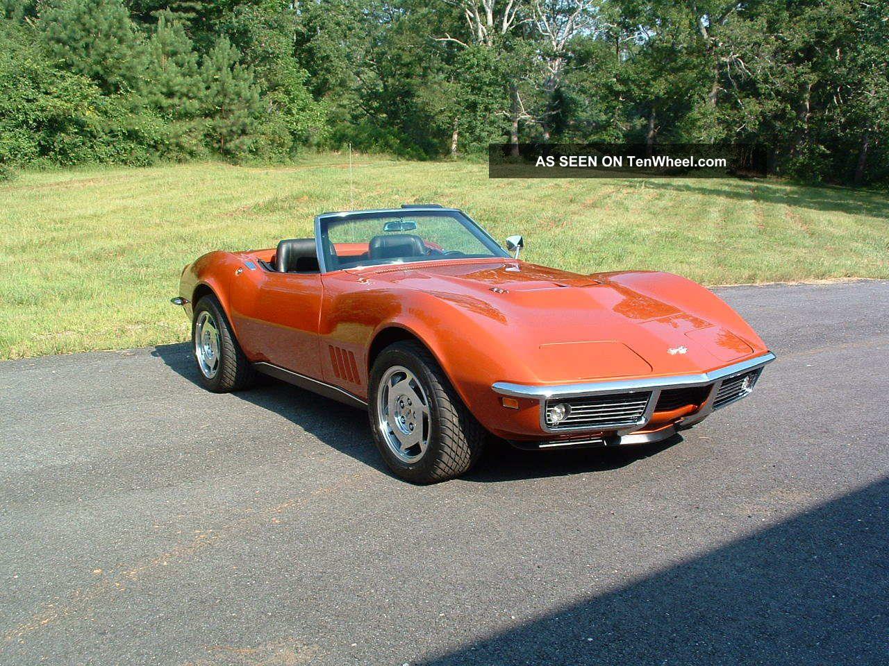 1968 Corvette Convertible Matching 427 435 Tripower