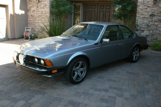 1985 Bmw 635csi Base Coupe 2 - Door 3.  5l photo