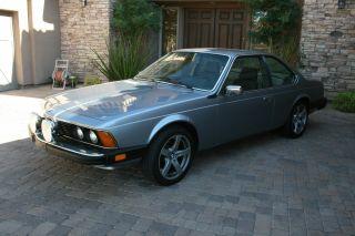 1985 Bmw 635csi Base Coupe 2 - Door 3.  5l photo