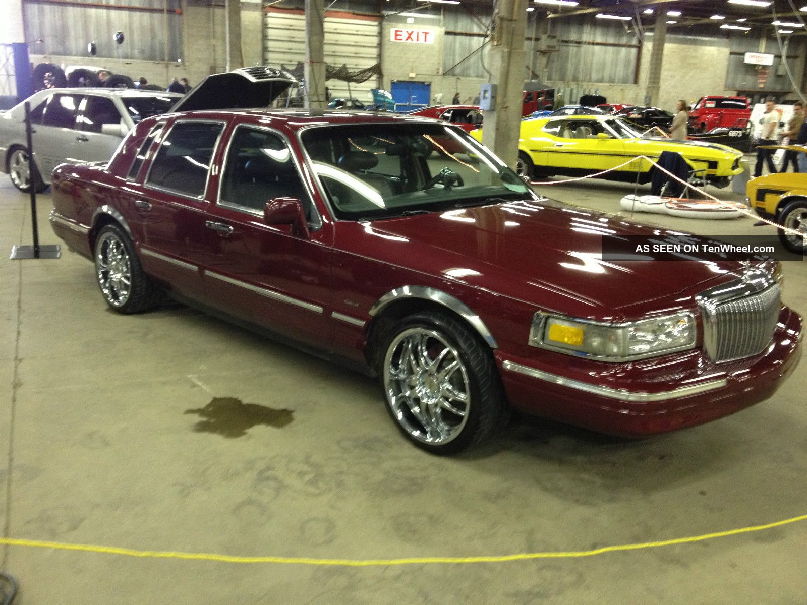 1996 Lincoln Town Car Diamond Anniversary Show Car