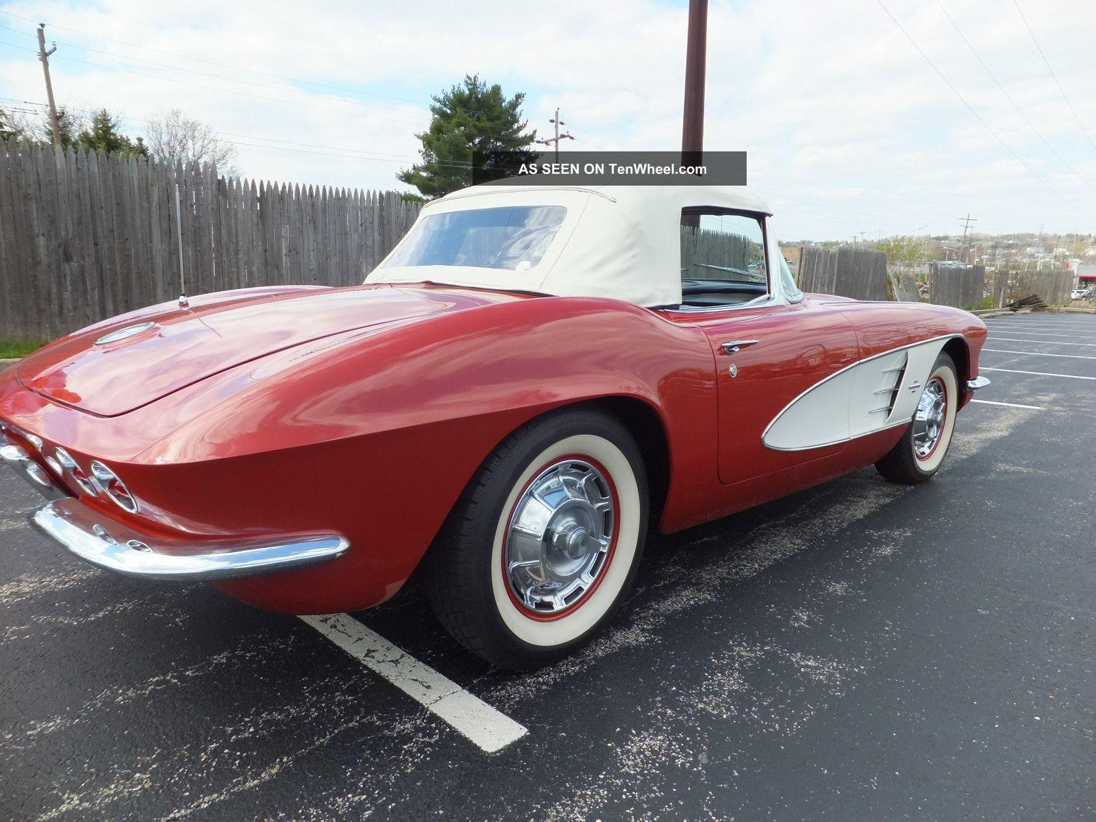 1961 Chevrolet Corvette Roadster Convertible Numbers
