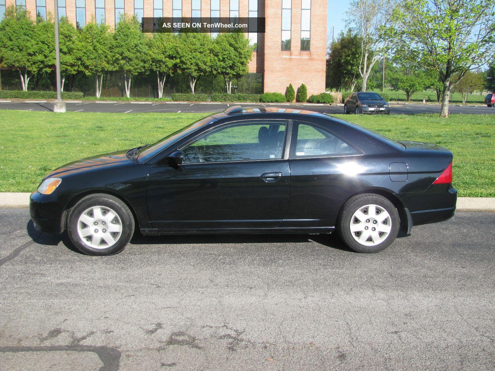 2001 Honda Civic Ex Coupe 2 Door 1 7l