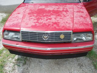 1991 Cadillac Allante Base Convertible 2 - Door 4.  5l photo