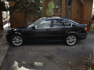 2004 Bmw 330xi Base Sedan 4 - Door 3.  0l photo