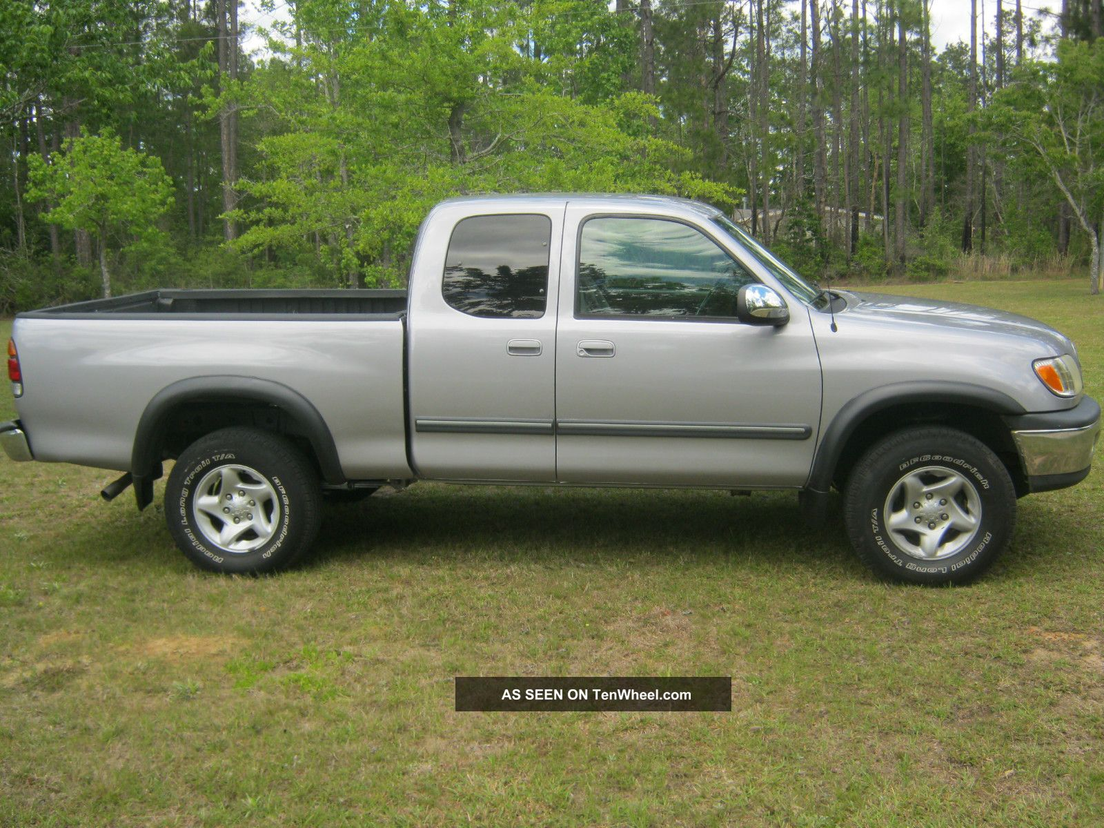2002 toyota tundra ext cab pickup newer engine. Black Bedroom Furniture Sets. Home Design Ideas