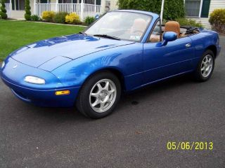 1994 Miata Laguna Blue And Tan 1 Of 342 Produced photo