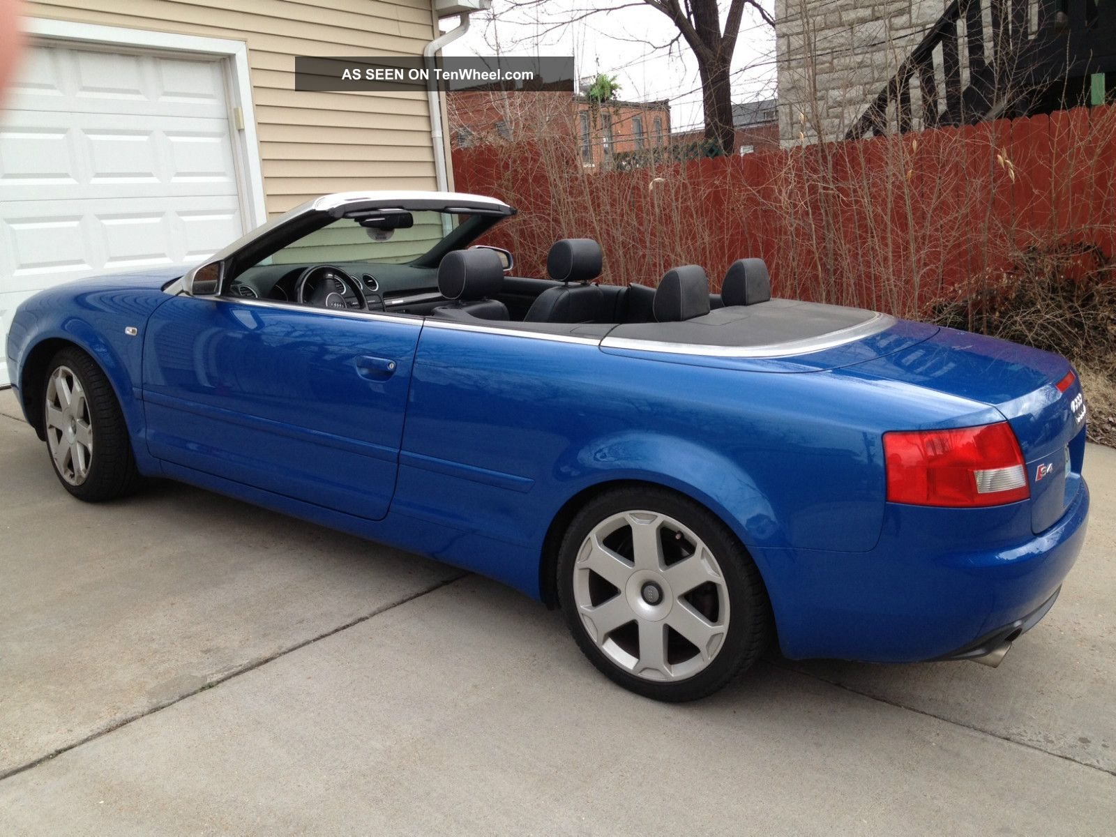2004 audi s4 cabriolet convertible 2 door 4 2l. Black Bedroom Furniture Sets. Home Design Ideas