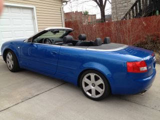 2004 Audi S4 Cabriolet Convertible 2 - Door 4.  2l photo