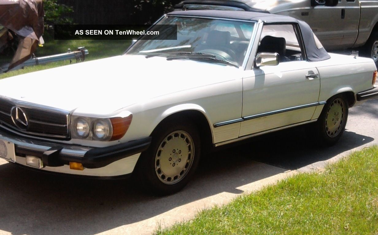 1986 Mercedes - Benz 560sl Convertable SL-Class photo