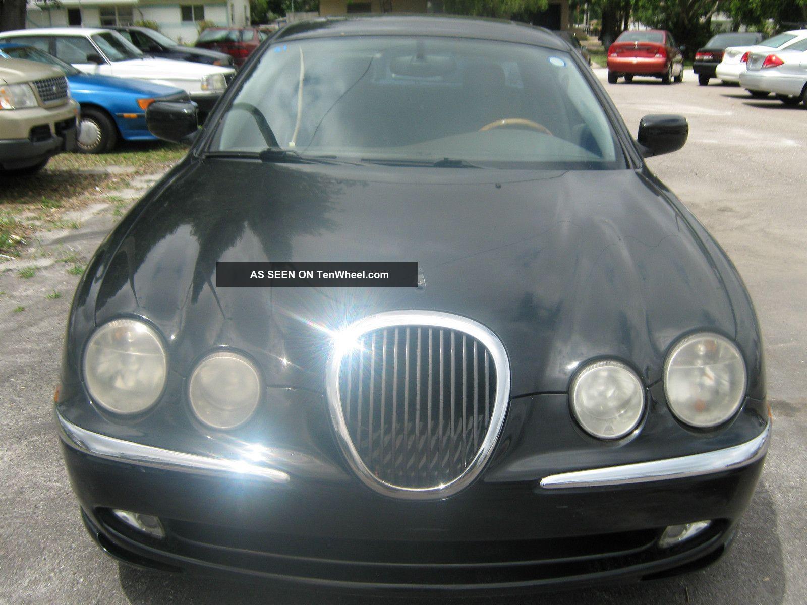 2000 Jaguar S - Type Base Sedan 4 - Door 3.  0l S-Type photo