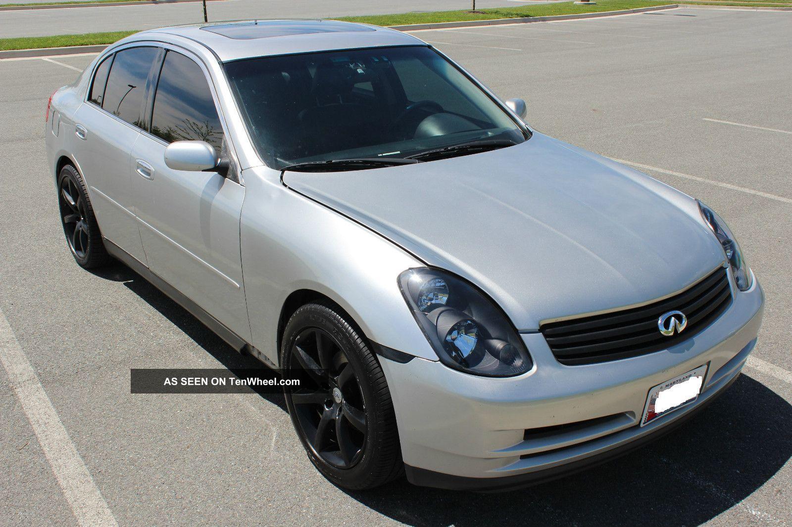 All Types infinity g35 2003 : 2003 Infiniti G35 Base Sedan 4 - Door 3. 5l Coupe Wheels, &