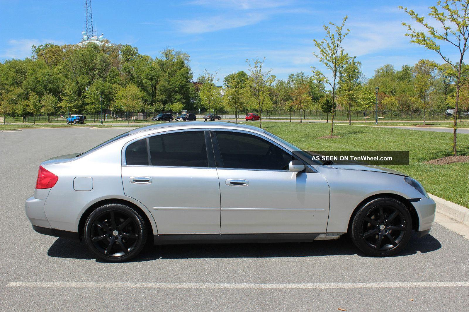 Infiniti G Base Sedan Door L Coupe Wheels Lgw