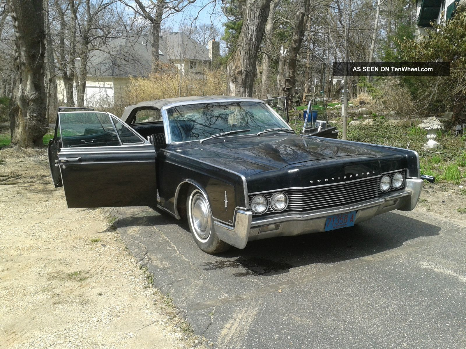 1966 Lincoln Continental Convertible With Suicide Doors Continental photo