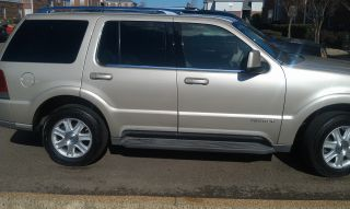 2004 Lincoln Aviator Base Sport Utility 4 - Door 4.  6l photo