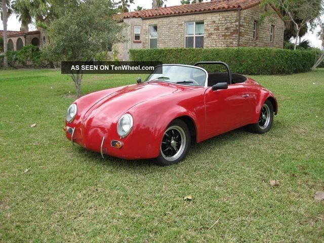1955 Porsche 356 Speedster California - Replica 1915 Performance Motor Replica/Kit Makes photo